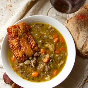 A Game Of Thrones: Pork and Lentil Stew